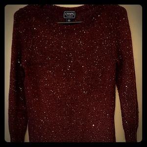 Chaps burg sweater